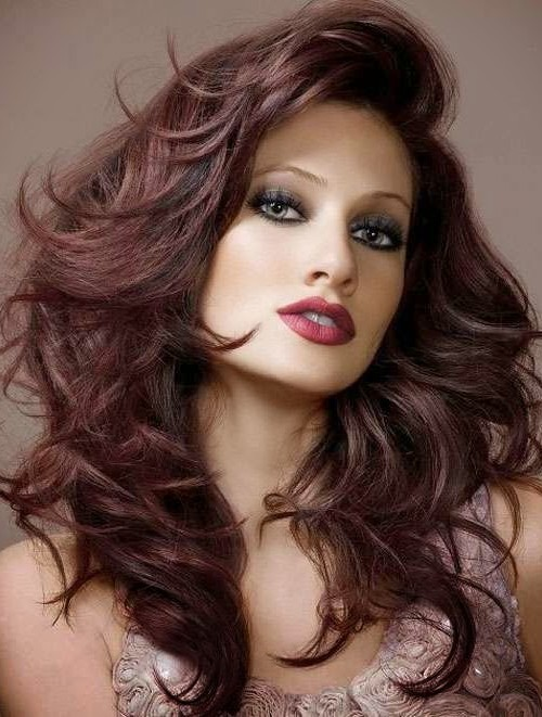 50 Splendid Mahogany Hair Colors For Any Woman