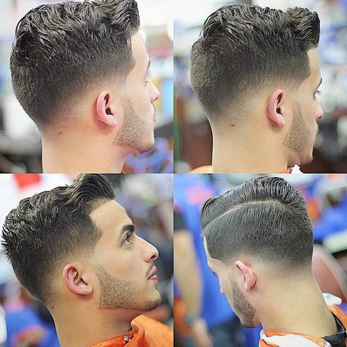 how to take care of a high top fade