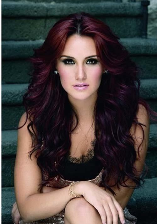 Purple mahogany haircut your favorite