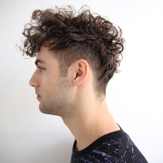 20 Sensuous Curly Haircuts Amp Hairstyles For Men 2017
