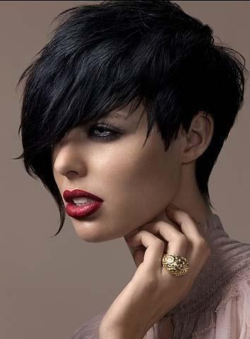 Modern and exquisite hairstyle for girl