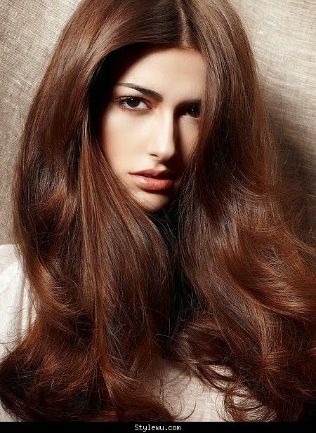 Nice Chocolate Brown Hairstyle You Like