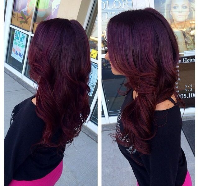 Dark Purple Hair Color 155876 Magenta For Best Coloring Pages New