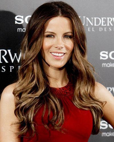 ombre with chestnut brown hairstyle