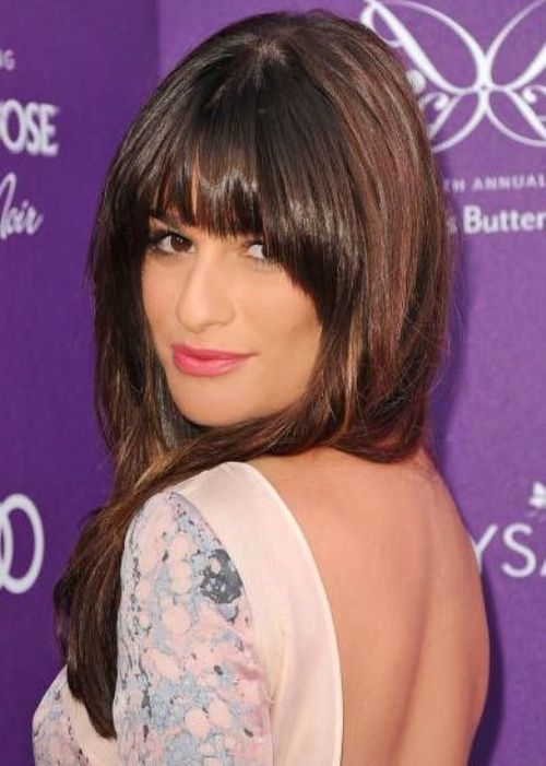 Arched Bangs hairstyle for beautiful women
