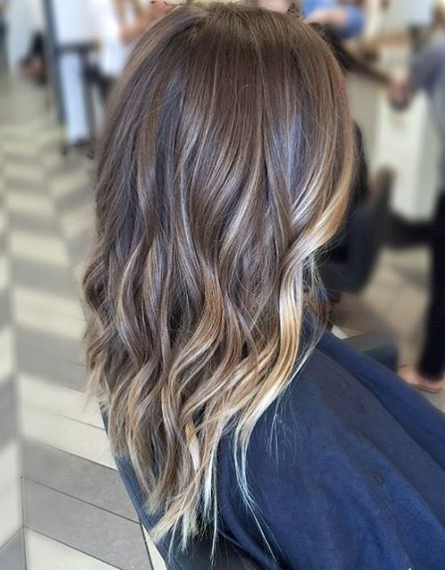 mix Color balayage ombre Hair your favorite