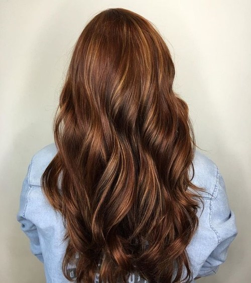 Reddish medium and chocolate brown hairstyles you love
