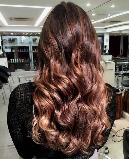 50 splendid mahogany hair colors for any woman burgundy and blonde balayage with mahogany hair urmus