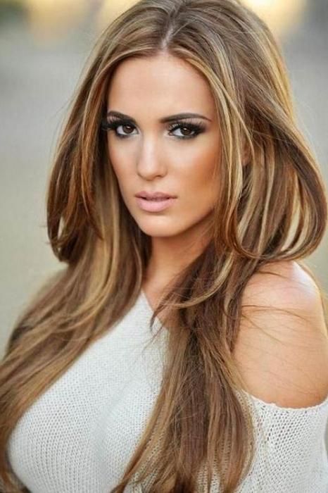 Light brown Hair style for girl