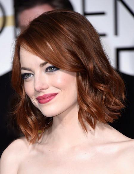 Low curls short hair for women