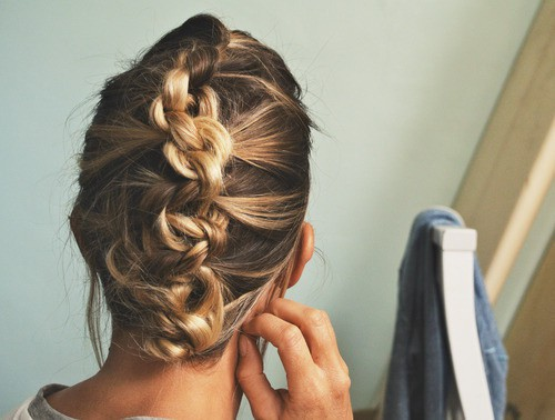 women French braid with hairdos haircut