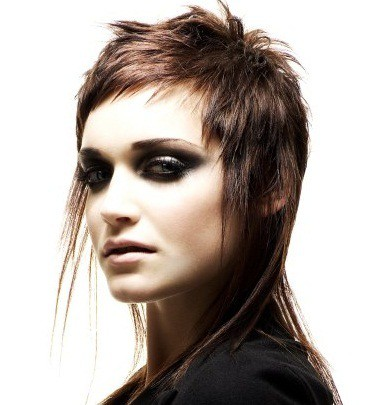 women's long back dutch boy hairstyle
