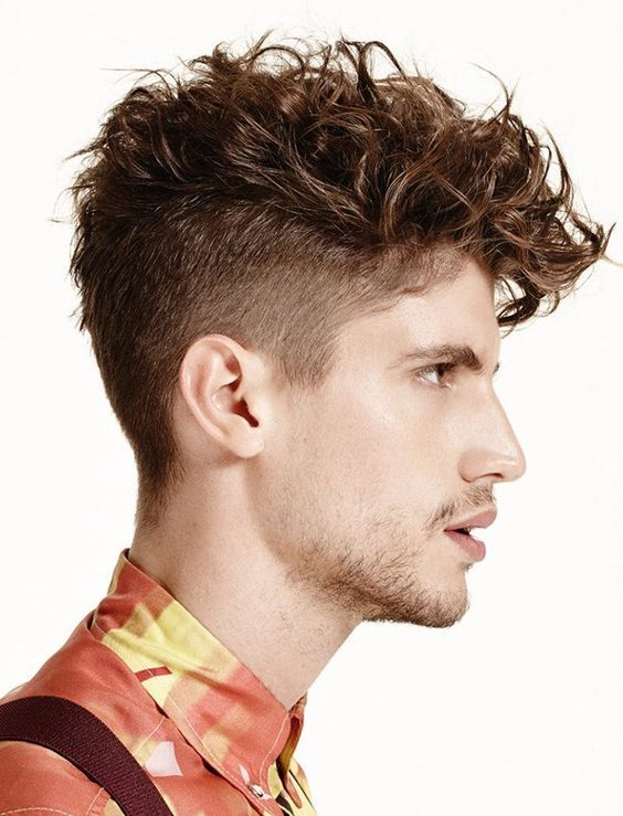 110 Sensuous Curly Haircuts & Hairstyles for Men [2018]