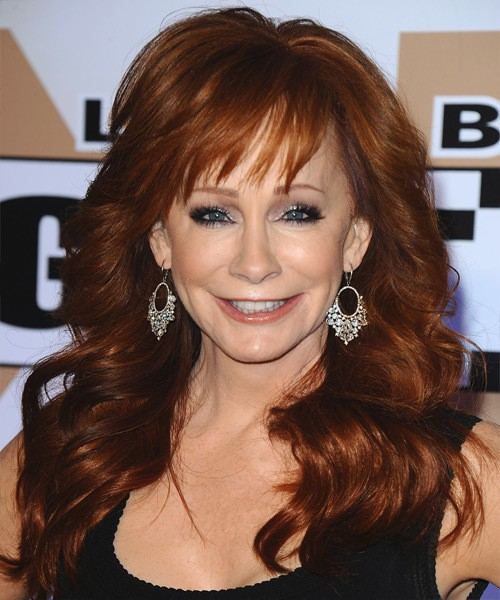 weave hairstyle for Reba Mcentire