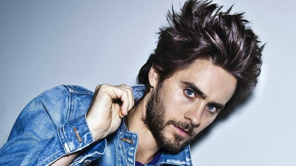 Amazing Volume hairstyle for Jared Leto