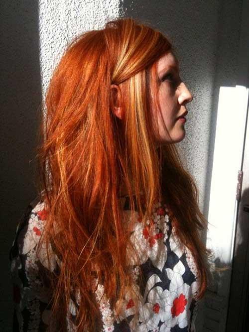 70 Stunning Blonde Highlights On Dark Brown & Red Hair