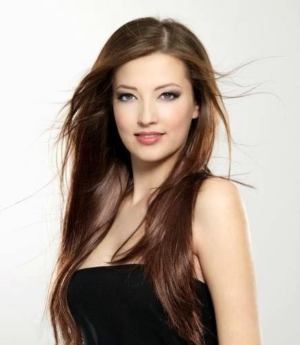 nice brown long hair style you like