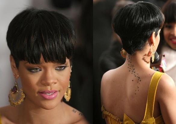 Rihanna style for Mushroom Hair