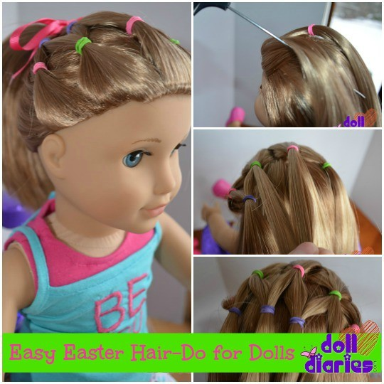 accessories with American Girl Doll hairstyle