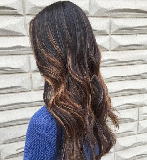 50 epic golden ash reddish brown hair colors 2018 partial highlights are a great way to go about trying a new hair color so if you are thinking of going golden brown you can start with just a few strands pmusecretfo Gallery