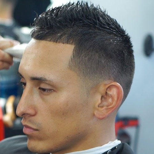 7 unique short faux hawk haircuts for men to try in 2017 very short fade faux hawk short fade fauxhawk hairstyle urmus Images