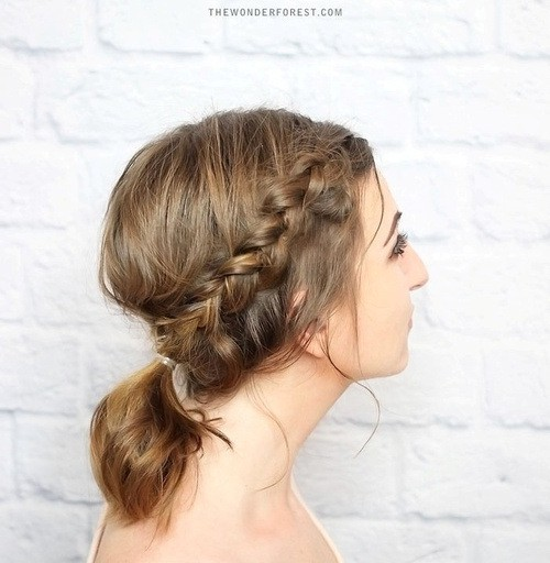 braids with hairdos for medium hair