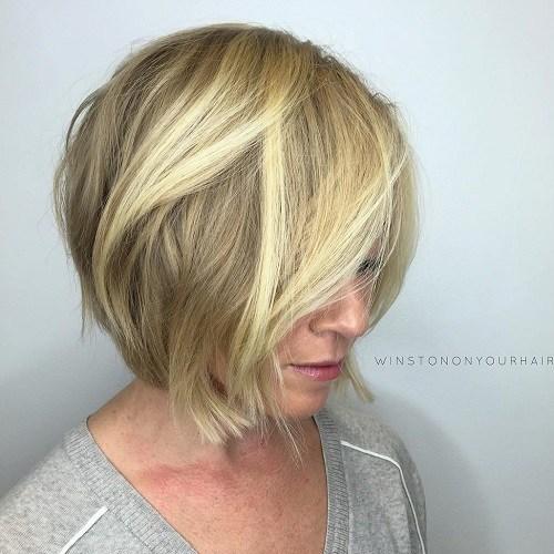nice A-line bob hairstyle