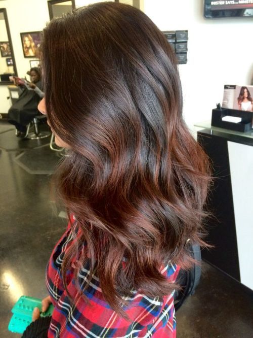 Redhead balayage ombre Hairstyle for girl