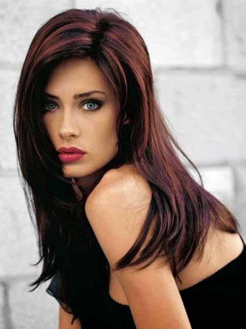 favorite Purplish highlights hairstyle you like