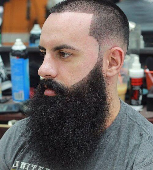 a line hair cut for men