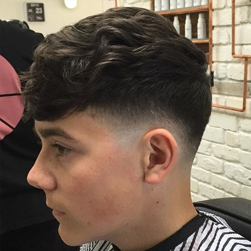 Hard Part Low Fade Haircut