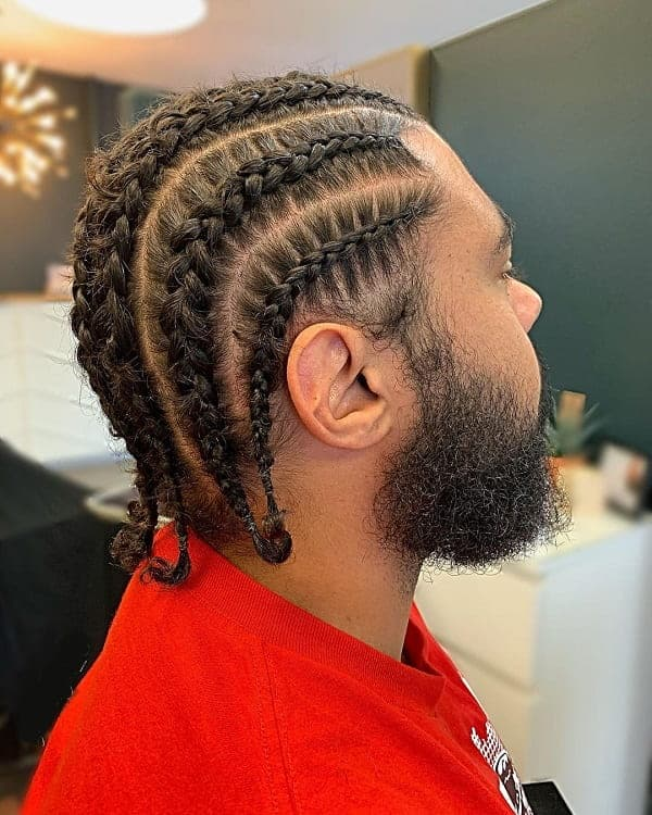 55 Greatest Man Braids That Work On Every Guy 2020 Trends