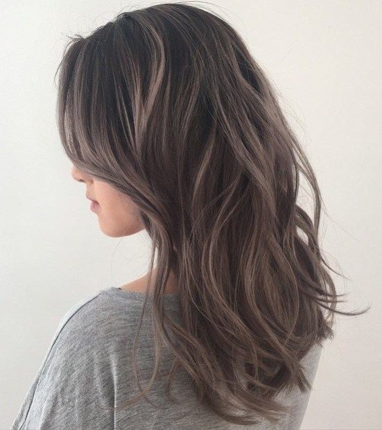 Dark Ashy Brown Hair Color For Age
