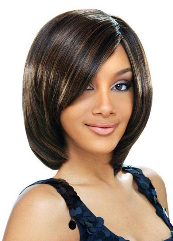 Crop short bobs for thin hair