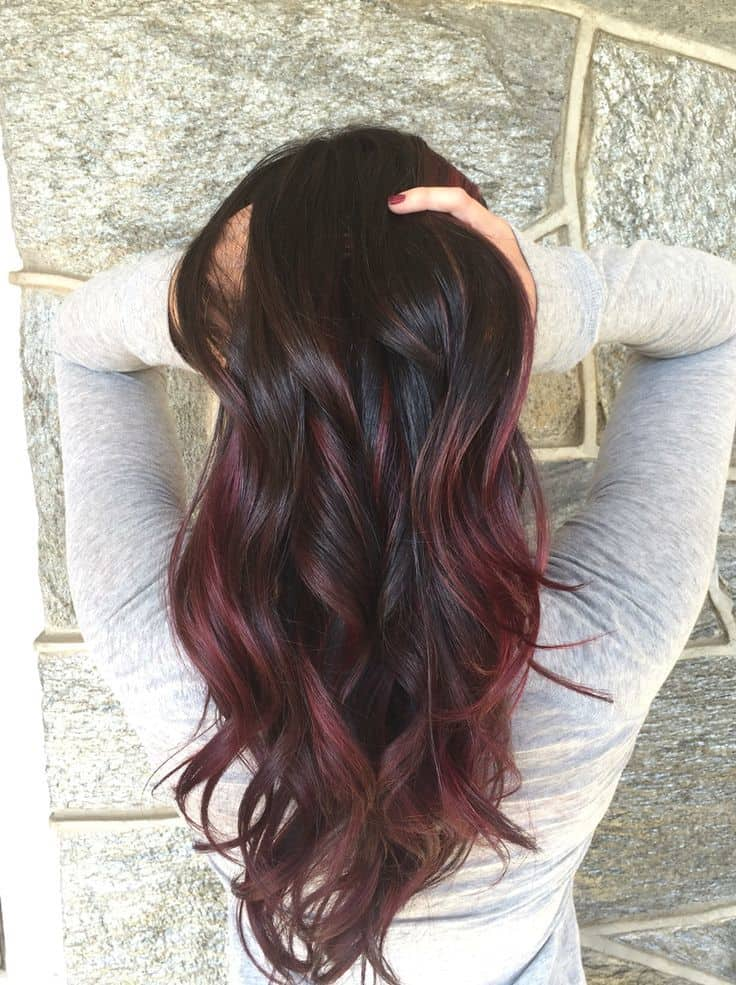 7 Mind Blowing Red Hair Highlights For Asian Women