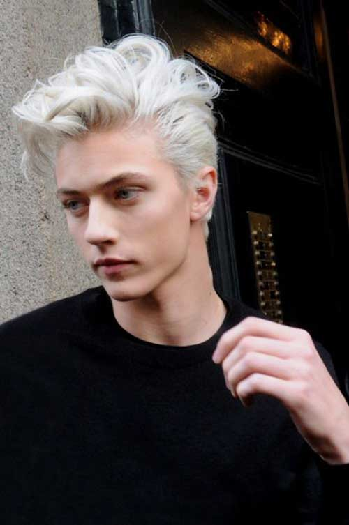 Men S Best Platinum Hair Color