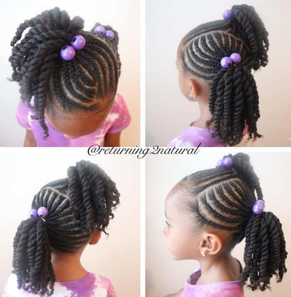 Cornrow Braids For Kids 5 Adorable Styles Hairstylecamp