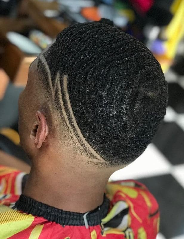 360 Waves with Designs in the Side