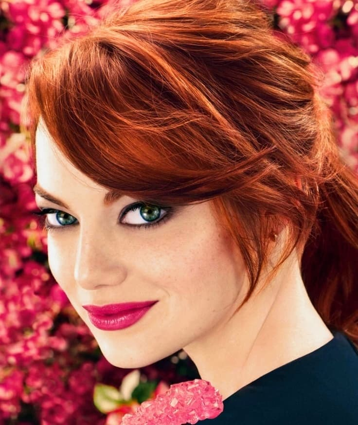 Copper Red Hair Color For
