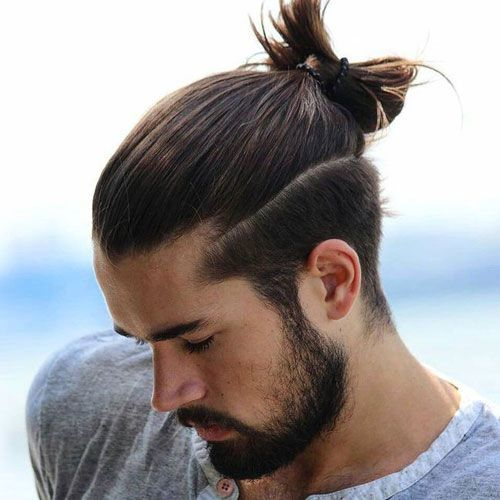 20 Fabulous Ponytail Hairstyles For Men 2019