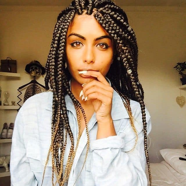 Box Braids For Black Hair