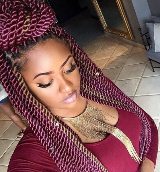 15 Intriguing Havana Twists With Marley Hair Styles