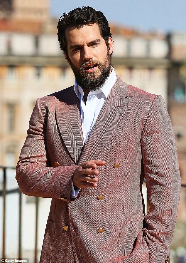 Henry Cavill Full Beard Beard Style