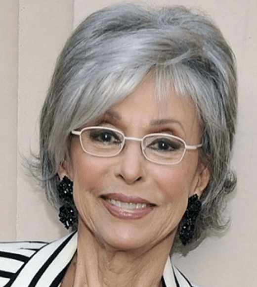 Grey Hair Hairstyles For Over 60 With Glasses
