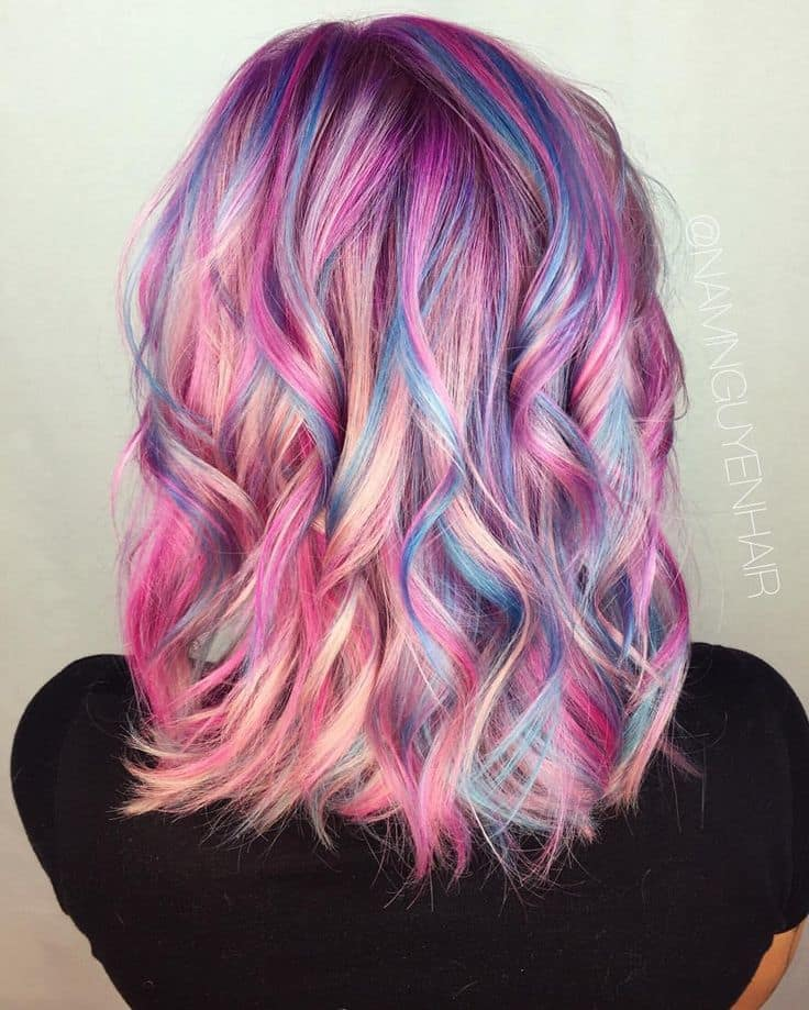 Multi Colored Hairstyles Hairstyles