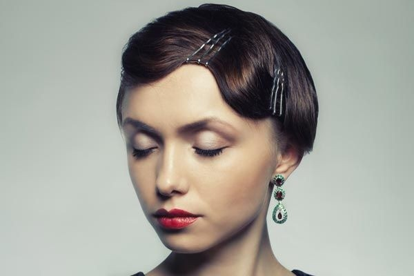 20 Top Flapper Girl Finger Wave Hairstyle Ideas