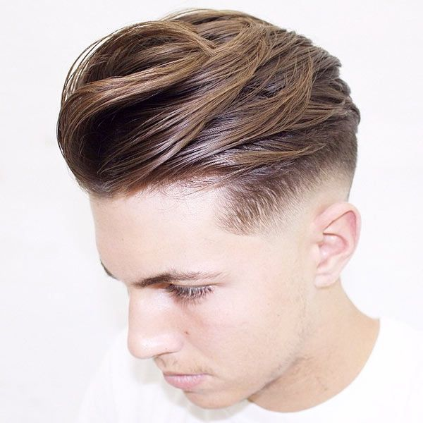 Medium Long Fade Haircuts For Men