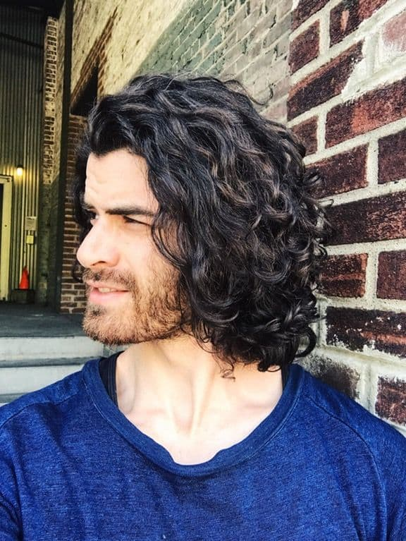 f3e64236957 110 Awesome Curly Hairstyles for Men  2019  – HairstyleCamp