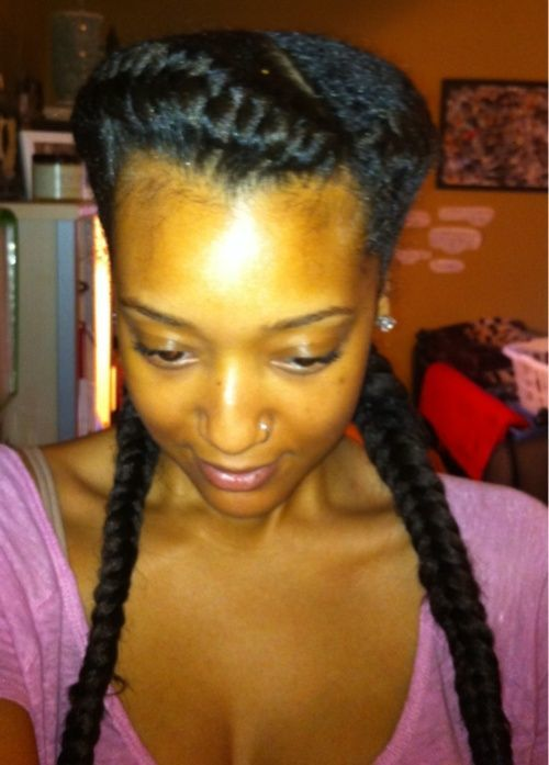 5 Fabulous French Braids With Weaves Hairstylecamp