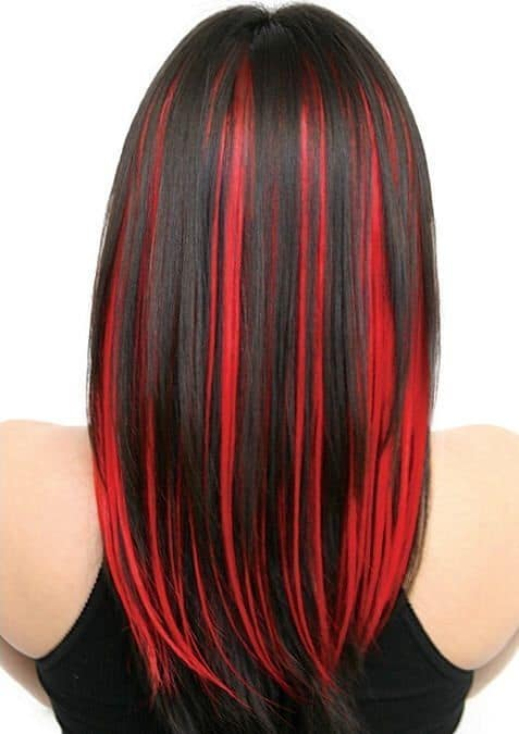 7 mind blowing red hair highlights for asian women bright red hair highlights for asian women pmusecretfo Gallery